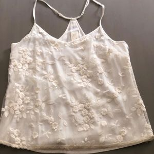 Anthropologie E by Eloise ivory cami